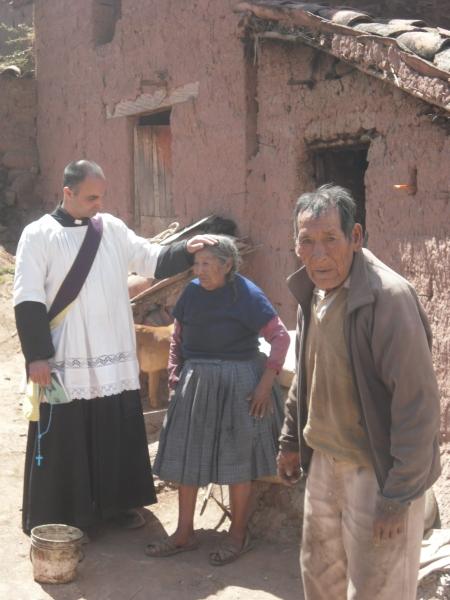 P.Paolo e una coppia di poveri